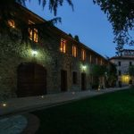 Villa Cesari Tiberi di notte